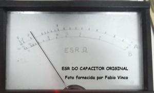 ESR do capacitor defeituoso