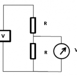Medindo tensão num divisor resistivo