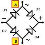 Fig.11 - Construção de uma ponte retificadora