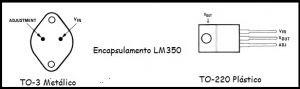 Encapsulamento do LM350