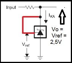 Fig.4 - Circuito para teste do 431