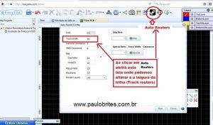 Fig. 20 – Janela Auto router