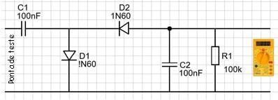 Fig. 2A - Circuito da ponta de moduladora